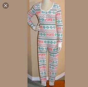 dfe037bd95 PINK Victoria s Secret Intimates   Sleepwear - Victoria s Secret Christmas  onesie